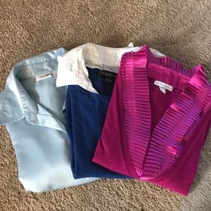 Tops - Long sleeves tops bundle of 3 size small